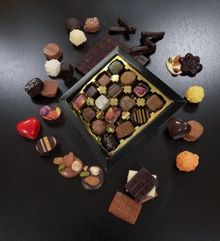 Coffrets 16 CHOCOLATS